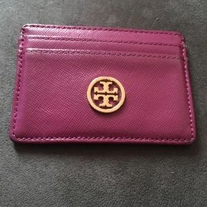 Tory Burch credit card holder